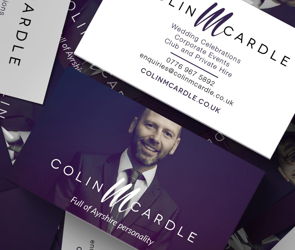 Colin McArdle business card